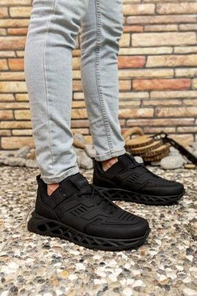 Riccon Siyah Siyah Erkek Sneaker 00122021 3