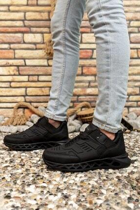 Riccon Siyah Siyah Erkek Sneaker 00122021 4