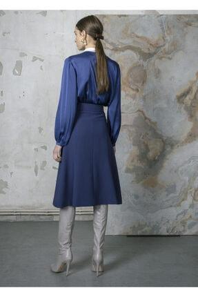 BİRELİN 3 Renkli Saten Bluz 2