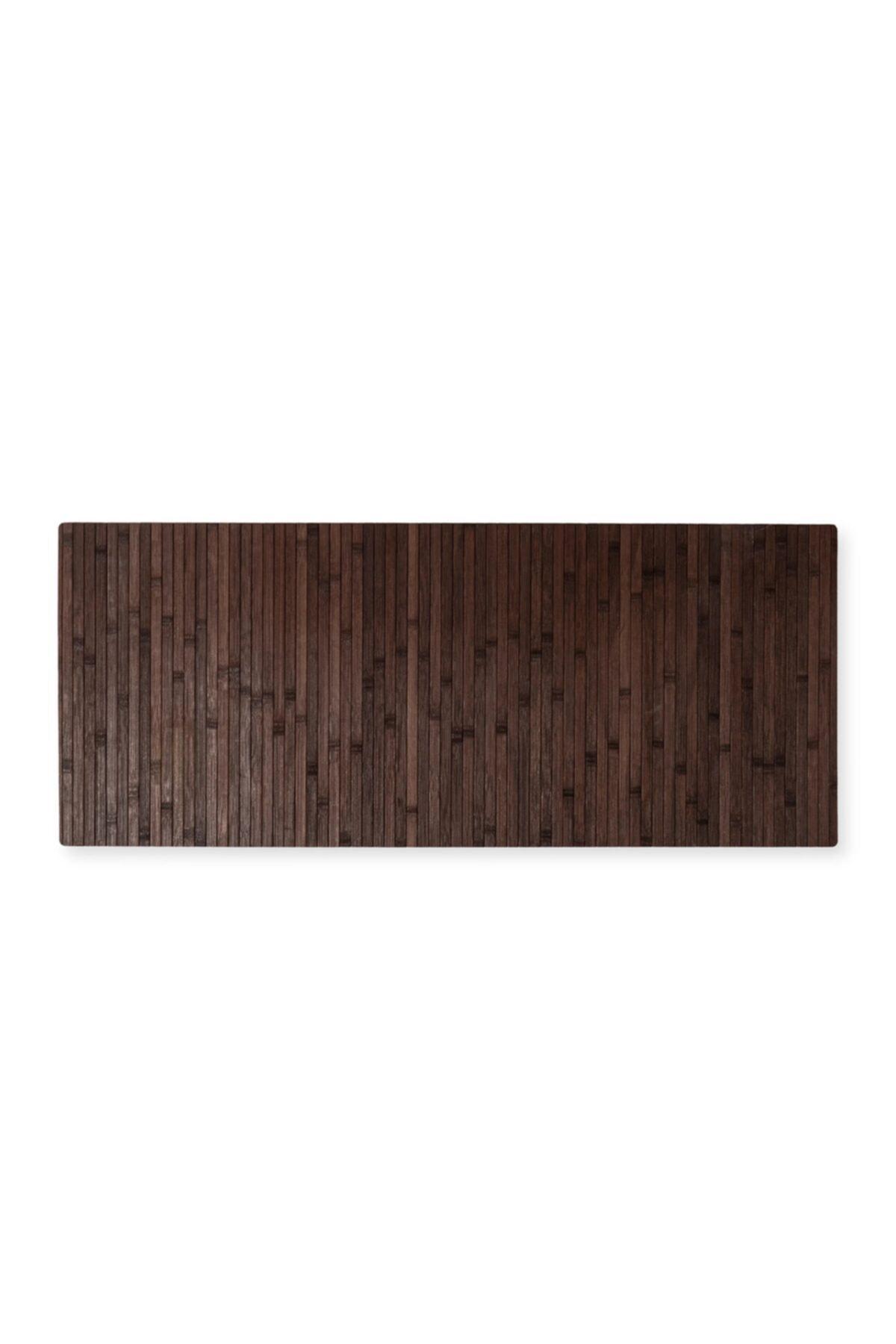 Bambu Kaydırmaz Tabanlı Paspas Banyo Kapı Ve Çok Amaçlı