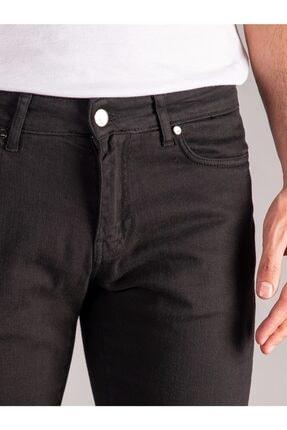 Dufy Siyah Düz Erkek Pantolon - Regular Fit 1