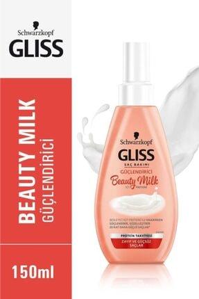 Gliss Schwarzkopf Gliss Beauty Milk-Güçlendirici Bakim Sütü 150 Ml 0