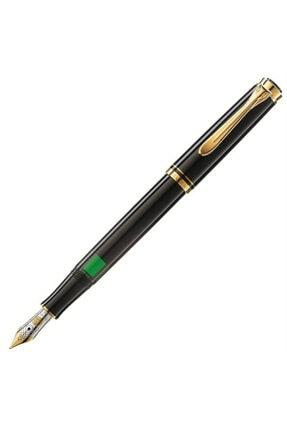 Pelikan M300 Dolma Kalem 14 Ayar Altın Kaplama Siyah Pel-m300s 0