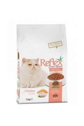Reflex Tavuklu Yavru Kedi Maması 3 Kg 0