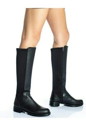 moss moda Kadın Uzun Çizme 0