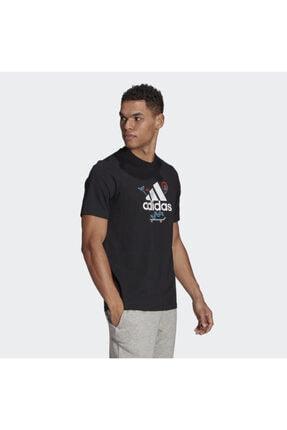 adidas Gl3709 M Crtn Logo Erkek Tişört 1