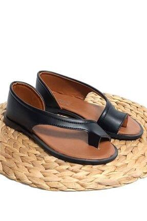 Moda Frato Kadın  Parmak Arası Ayakkabı Sandalet 3