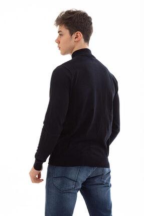 Emporio Armani Erkek Mavi Knıtted Cardıgan Ceket 8n1eb1 1mppz 2