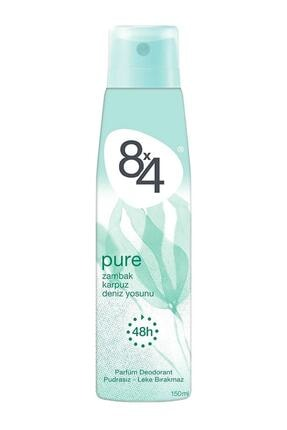 8x4 Pure Sprey Deodorant 150ml Kadın 0