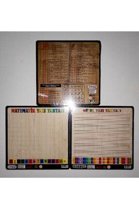AVDA Elif Ba Arapça Harfler Puzzle+türkçe Harfler Puzzle+rakamlar-sayılar Puzzle Ahşap Puzzle Bul-tak 1