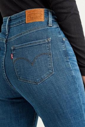 Levi's Kadın Mavi 721 Yüksek Bel Skinny Jean 18882-0388 3