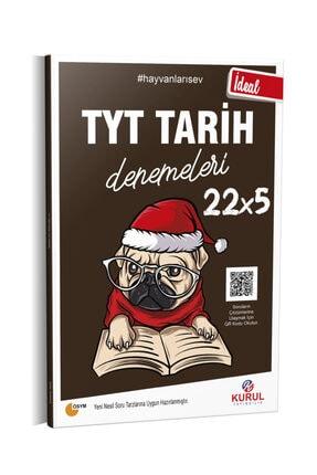 Kurul Yayıncılık 2021 Tyt Ideal 22x5 Tarih Denemeleri Qr Kod Çözümlü 0