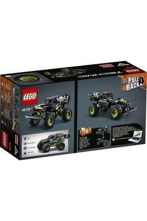LEGO Technic 42118 Monster Jam Grave Digger 212 Parça 7 Yaş 1