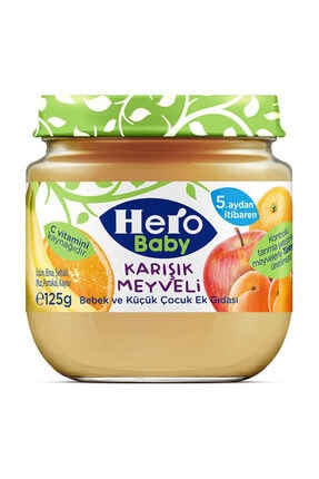 Hero Baby Karışık Meyveli Kavanoz Maması 125 gr 3