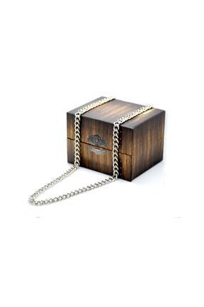 Petit Store Unisex Gümüş Model Uzun Zincir Kolye 70 cm 1