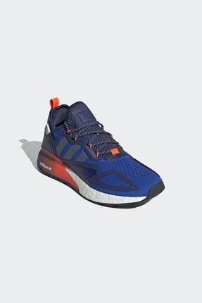adidas Erkek Mavi Günlük Yürüyüş Ayakkabısı Zx 2k Boost Fx8836 3