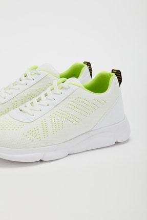 Muggo Unisex Beyaz Yeşil Sneakers Ayakkabı Svt17 3
