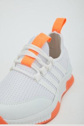 Muggo Unisex Turuncu Sneaker Ayakkabı Mgforce01 4