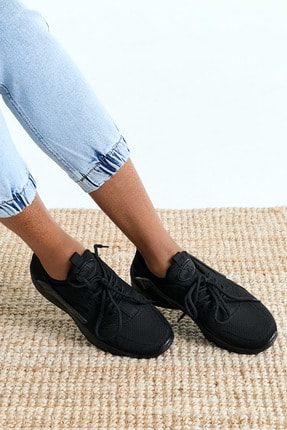 Tonny Black Unisex Siyah Sneaker HRC-Q-0 1