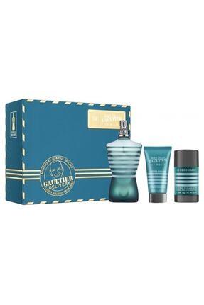 Jean Paul Gaultier Le Male Edt 125 ml Erkek Parfüm + After Shave Lotion 50 ml + Deo Stick 8435415036337 0