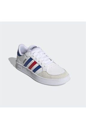 adidas BREAKNET Beyaz Erkek Sneaker Ayakkabı 101079837 3