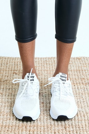 Tonny Black Unısex Beyaz Spor Ayakkabı 3