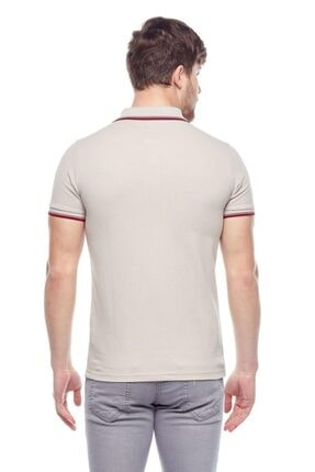 Tena Moda Erkek Taş Polo Yaka Tişört 2