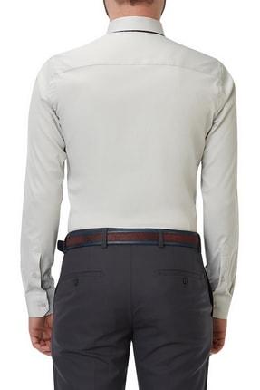 Efor Gk 490 Slim Fit Stone Klasik Gömlek 2