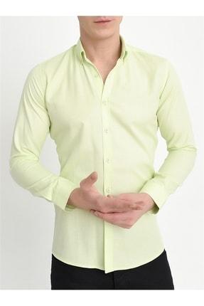 Efor Gk 560 Slim Fit Limon Klasik Gömlek 2
