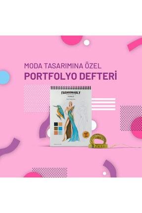 Atölye İzmir Fashionably Portfolio Female A4 0