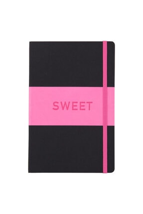 Matt Notebook 14x22 Sert Kapak Defter Çizgili Pembe 0