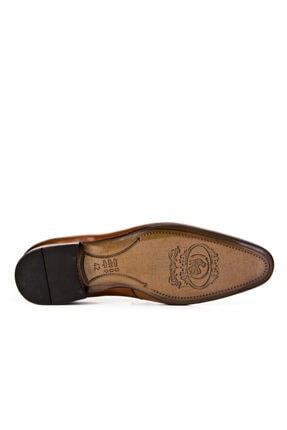 Cabani Kemer Detaylı Klasik Erkek Ayakkabı Taba Sanetta Deri 2