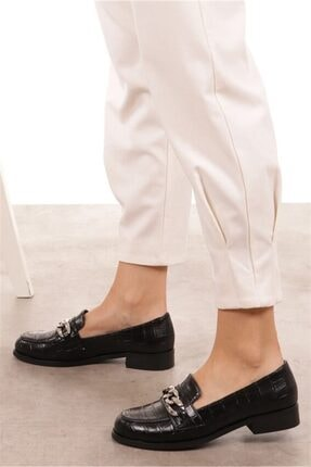 Mio Gusto Bristol Siyah Oxford Ayakkabı 3