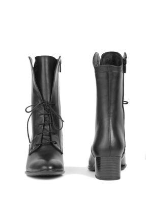 Saracshoes Gerçek Deri Siyah Shoelace 2