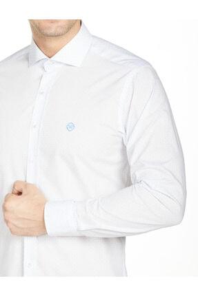 Bisse Uzun Kollu Italyan Yaka Klasik Gömlek 1