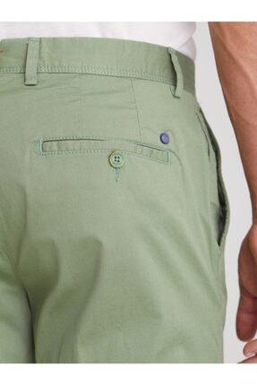 Dufy Yeşil Düz Ribana Örgü Erkek Pantolon - Slım Fıt 2