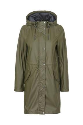Vero Moda Kadın Haki Yağmurluk 10199174 3