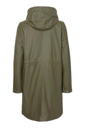 Vero Moda Kadın Haki Yağmurluk 10199174 4