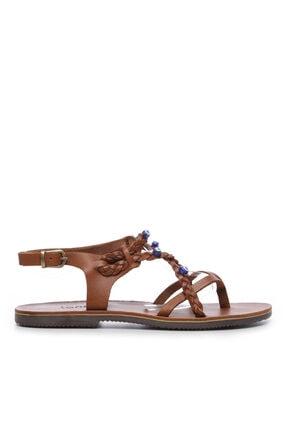 Kemal Tanca Kadın Derı Sandalet Sandalet 607 1989 Byn Sndlt Y19 0