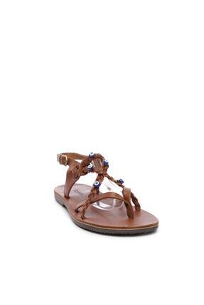 Kemal Tanca Kadın Derı Sandalet Sandalet 607 1989 Byn Sndlt Y19 1