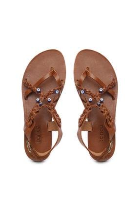Kemal Tanca Kadın Derı Sandalet Sandalet 607 1989 Byn Sndlt Y19 2