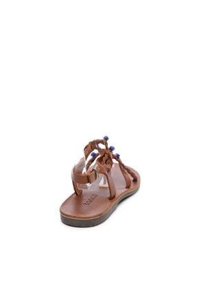 Kemal Tanca Kadın Derı Sandalet Sandalet 607 1989 Byn Sndlt Y19 3