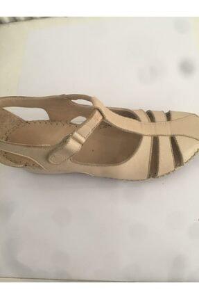 Ceyo 04 Bej Bayan Anatomik Ayakkabı 1