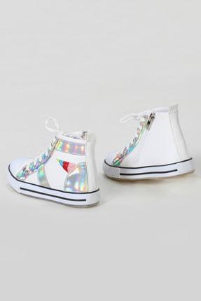ZENOKIDO Unicorn Hologram Detaylı Kız Sneakers Ayakkabı 2