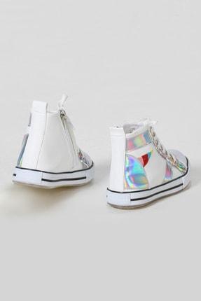 ZENOKIDO Unicorn Hologram Detaylı Kız Sneakers Ayakkabı 3