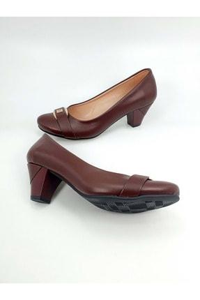 Demirtaş Bayan Topuklu Ayakkabı - Bordo - 38 1