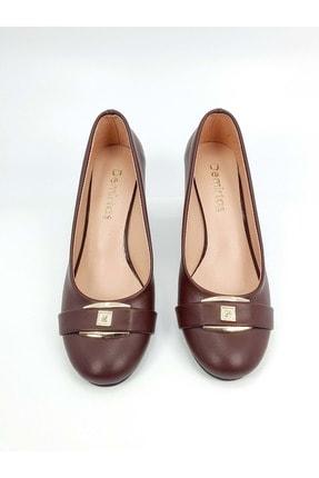 Demirtaş Bayan Topuklu Ayakkabı - Bordo - 38 2