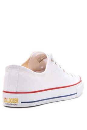 Bulldozer 201436 Beyaz Erkek Keten Ayakkabı 3