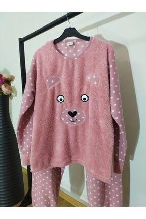 Irmak kids Anne Kız Polar Pijama Takım 2