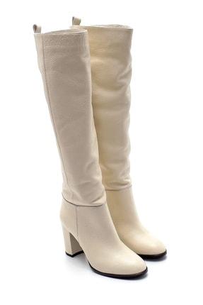 Derimod Kadın Deri Topuklu Çizme 4